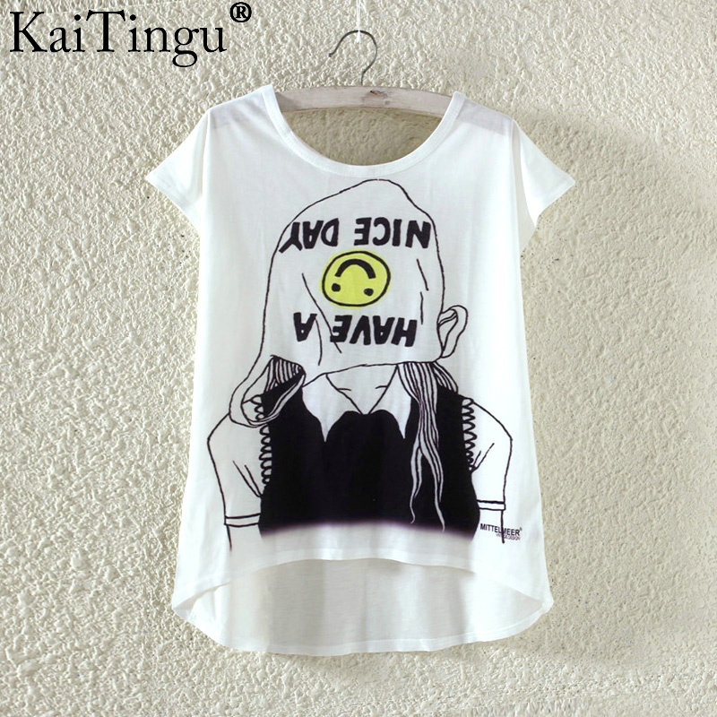 HTB1N14dPXXXXXb3XFXXq6xXFXXXl - Kawaii Cute T Shirt Harajuku High Low Style Cat Print
