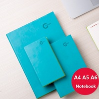 A4 A5 A6 Commercial Diary Stationery Notebook Simple Design Small Notepad Portable School Supplies 108 Sheets