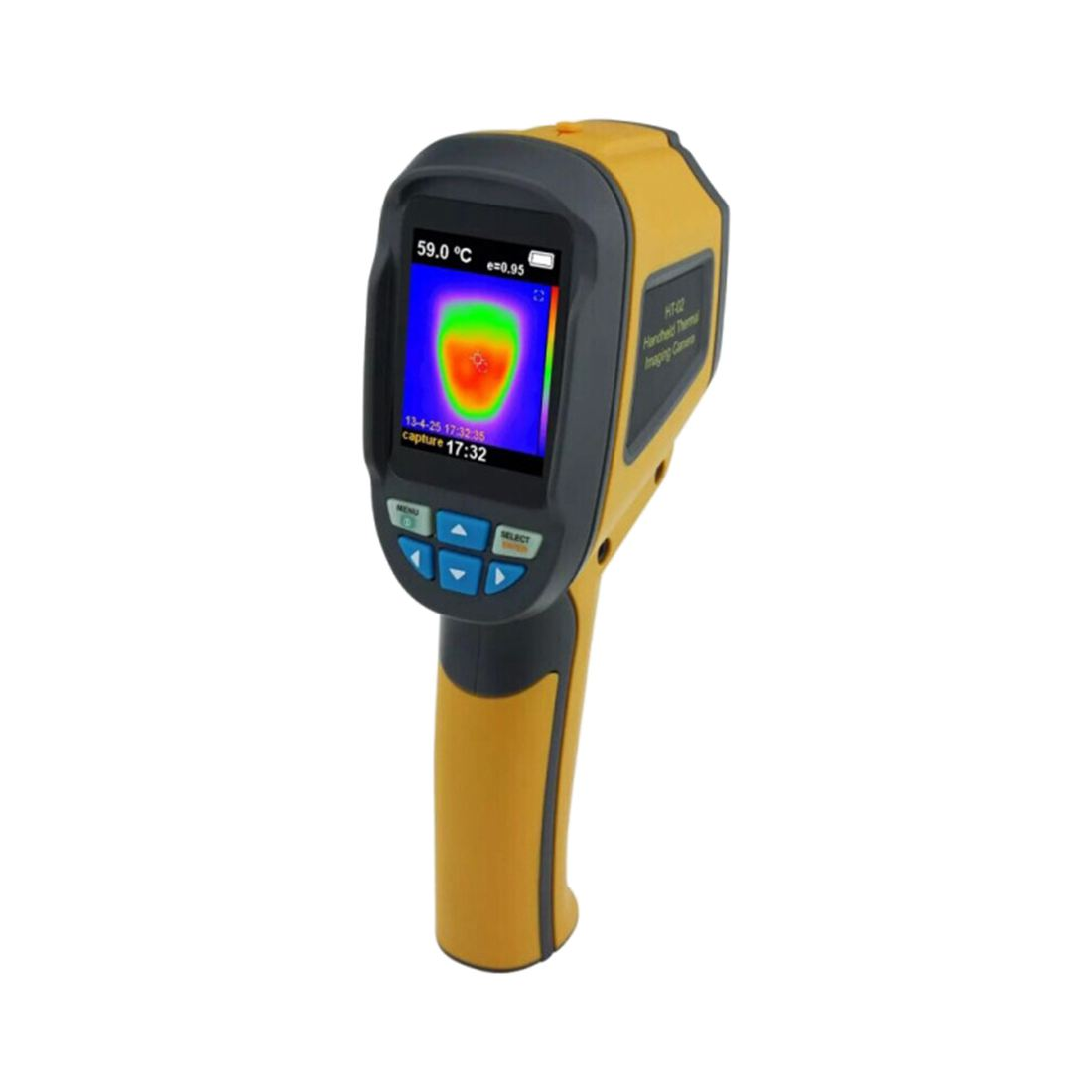 High Quality XINTEST Handheld Thermal Imaging Camera Infrared Thermometer Imager -20 Celsius ~300 Celsius YC P94U adroit 2016 new 35cm 3 5mm stereo male to 2 female headset mic y splitter audio cable adapter for phone jul25