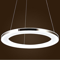 Acrylic Pendant,1 light modern chandelier Contracted Design Mini Pendant Ring LED Ring chandelier lighting Free shipping