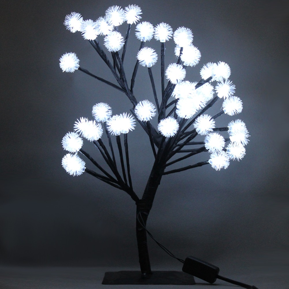 Luminarias Snow Ball Tree Night Lights LED Christmas Holiday Tree Table Desk Lamp Luz De led Indoor Bedside Home Garland Decor main board for brother mfc 8860dn mfc 8880dn mfc 8670dn mfc 8860 8880 8880nd 8670 8860dn formatter board mainboard on sale