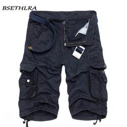 BSETHLRA 2019 Neue Shorts Männer Sommer Heißer Verkauf Arbeiten Kurze Hosen Camouflage Military Marke Kleidung Mode Herren Cargo-Shorts 29 -40