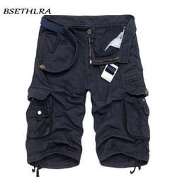 BSETHLRA 2019 New Shorts Men Summer Hot Sale Work Short Pants Camouflage Military Brand Clothing Fashion Mens Cargo Shorts 29-40