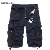 BSETHLRA 2018 New Shorts Men Summer Hot Sale Work Short Pants Camouflage Military Brand Clothing Fashion
