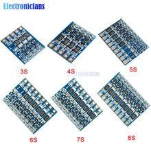 Panneau de Protection de fonction d'équilibre 3S 4s 5s 6S 7S 8S 4.2v, batterie Lithium 18650 Li-ion 66mA