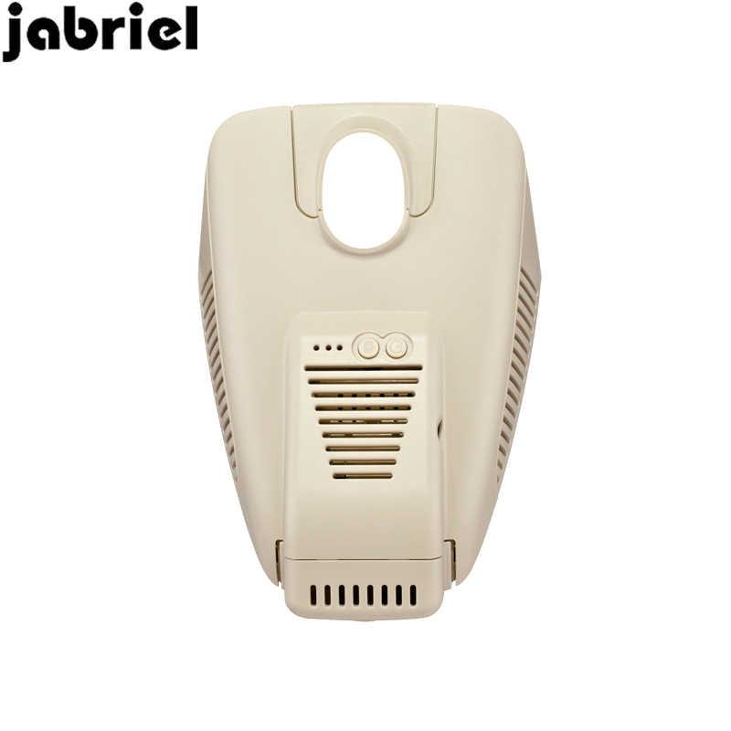 Jabriel 1080 P ukryty samochód dvr wifi z dwoma obiektywami wideorejestrator do jazdy samochodem kamera dash cam dla 2014-2018 Mercedes Benz C180 c200 2018 E200