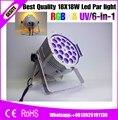 18 Вт 6в1 RGBW 18 шт. фокусировка Led Par можно мыть огни