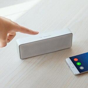 Image 4 - Xiaomi Mi Bluetooth Altoparlante Scatola Quadrata 2 Stereo Portatile Bluetooth 4.2 HD Ad Alta Definizione la Qualità del Suono di Musica del Gioco