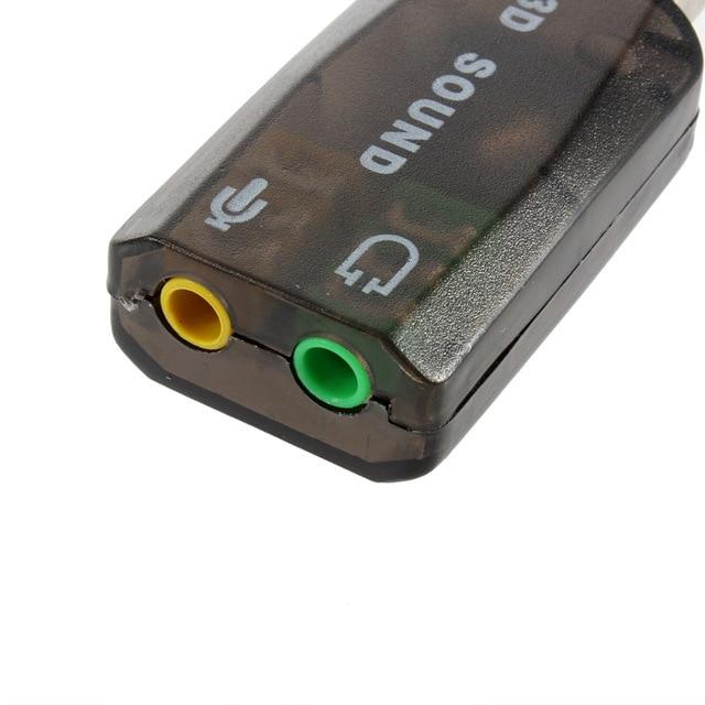 USB 2.0 Audio Headset Headphone Earphone Mic Microphone Jack Converter Adapter Computer Cables & Connectors