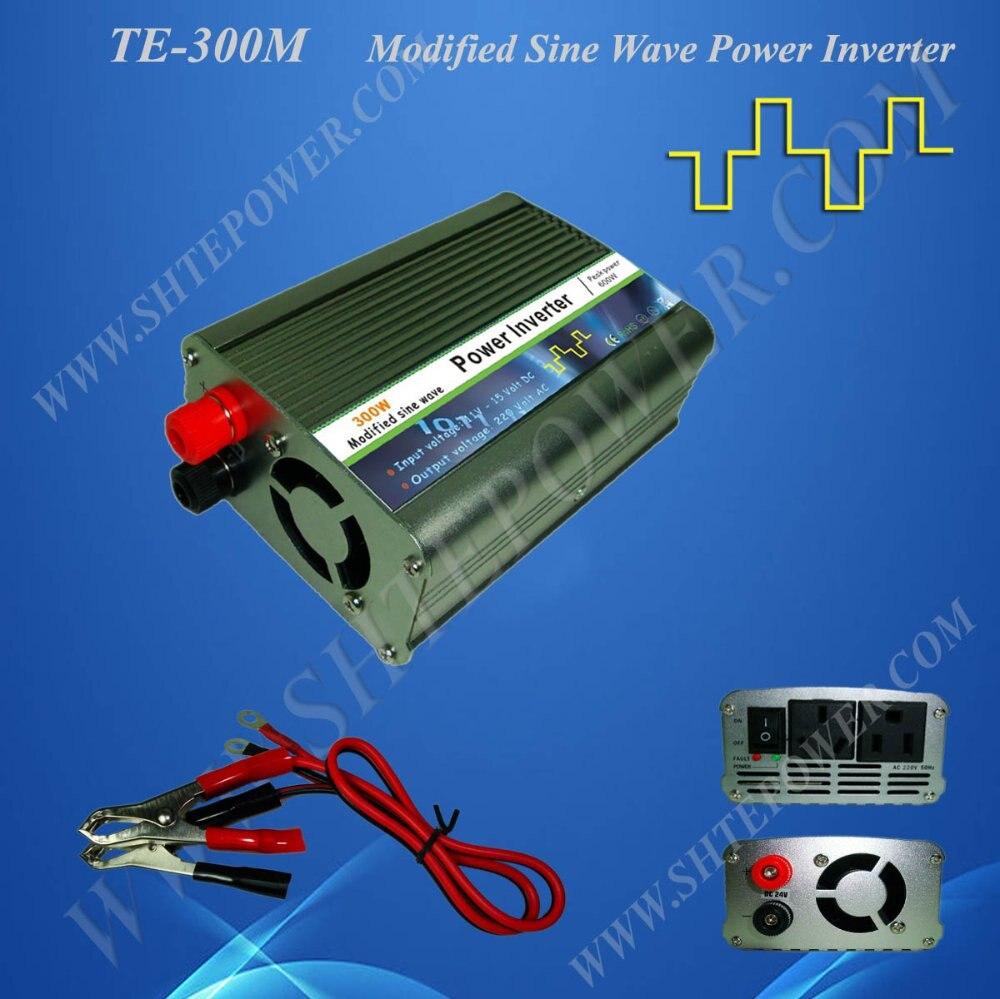Автомобильный инвертор 12VDC до 220VAC 300 Вт, разъем прикуривателя, CE& ROHS