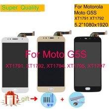 "5.2 ""עבור מוטורולה Moto G5S LCD תצוגת מסך מגע Digitizer חיישן מלא LCD עצרת XT1791 XT1792 XT1794 XT1795 XT1797"