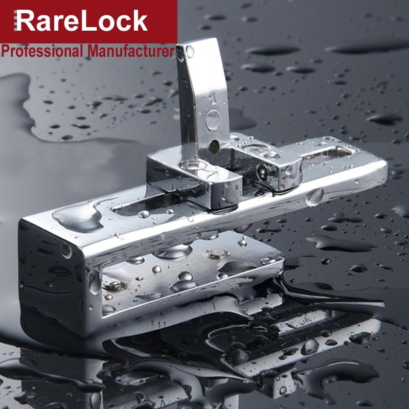 Rarelock MS519 Slinding Porta de Bloqueio para Casa Varanda casa de Banho de Vidro Do Banheiro Acessórios Nenhuma Perfuração Necessário DIY h da Segurança Do Bebê