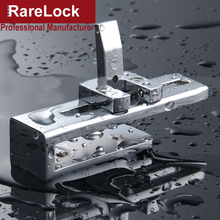 Rarelock MS519 Bathroom Glass Slinding Door Lock for Home Shower Room Balcony Baby Safety Accessories No Drilling Require DIY h