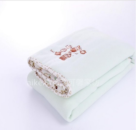 2013 Free shipping koala baby double layers super soft polar fleece baby blanket towel child throw kindergarten quilt 95*70cm