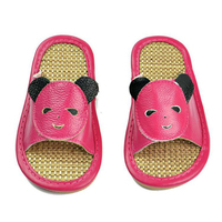2018 The New Hot Sale Flax Slippers Kid Summer Slippers Children's Home Linen Slippers Home Cute Baby Floor Cooler Slippers