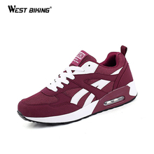WEST BIKING Bike Outdoor Shoes Comfortable Men Women's Shoes Air Cycling Breathable Bicycle Cycling Shoes Size 5-9.5