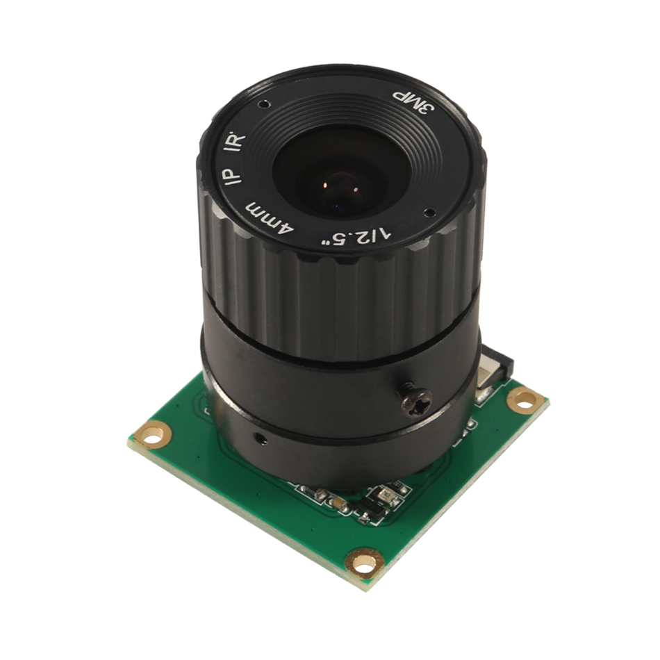 Raspberry Pi Camera Module 5mp 8mm Focal Adjustable Length Night Vision Noir Camera For Raspberry Pi 3 Model B+/3b/zero W image
