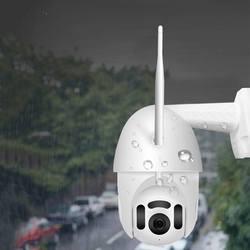 Xiaovv Smart WIFI 1080P IP Cámara 360 ° rotación H.265 impermeable ONVIF infrarrojo versión nocturna APP Cámara