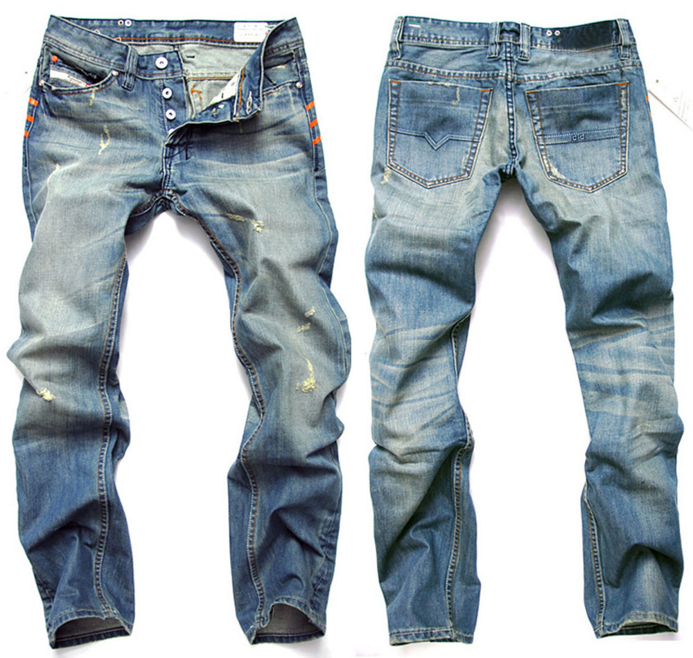 Acid Washed Jeans Men