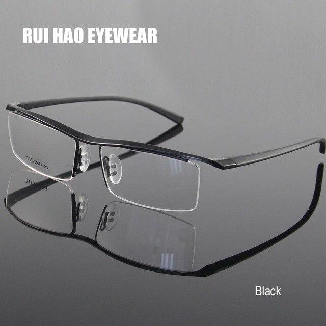 4 Warna Resep Kacamata Rentang Titanium Kacamata Setengah Tanpa Bingkai  Kacamata Kacamata Eyewear Frame Kacamata Oculos 5371e87ac8