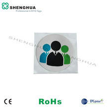 6pcs/ lot ISO14443A RFID NFC Antenna Tag Water Proof Rfid 13.56 Disc Tag Contactless N tag213 Adhesive For Management(China)