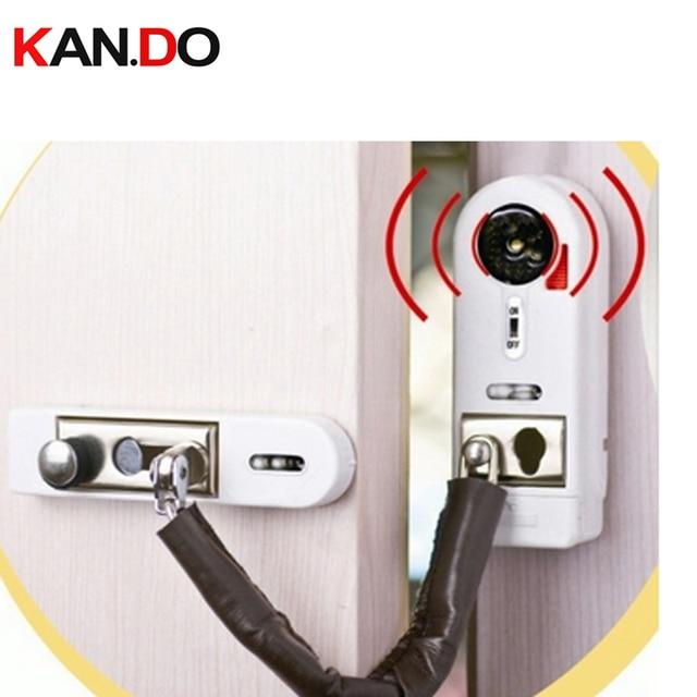 2pcs Lot Anti Entry Door Alarm Magnetic Sensor Wireless Burglar