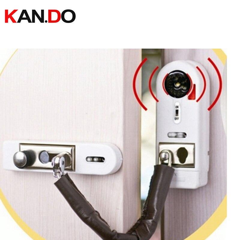 2pcs /lot anti entry door alarm magnetic sensor wireless burglar alarm windows sensor alarm with lock function