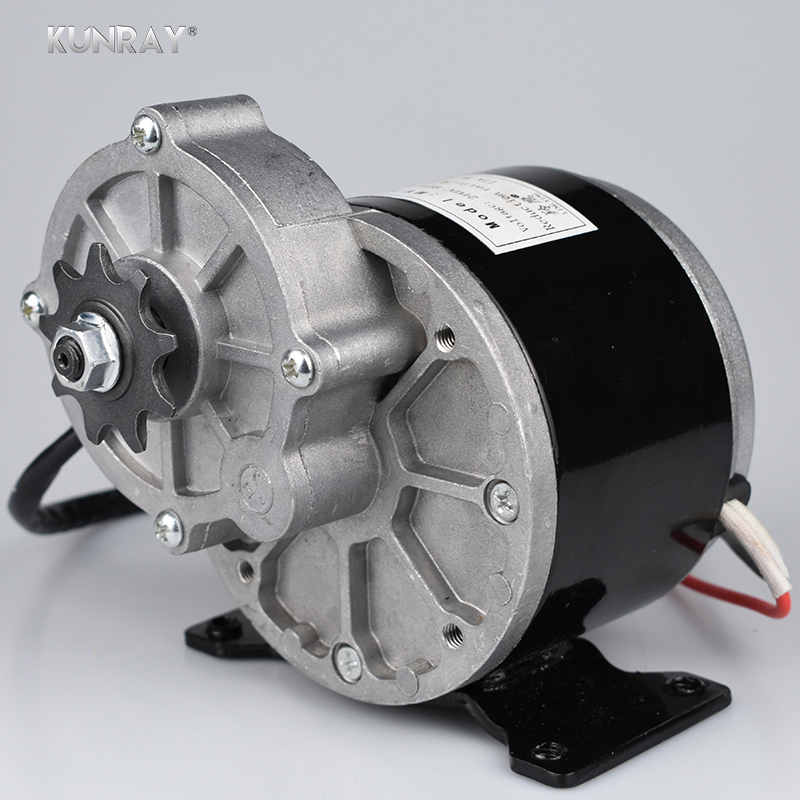 MY1016Z 12V 250W DC Brushed Motor Electric Tricycle Bicycle Motor 250W 28A 2700RPM Bike Conversion Kit