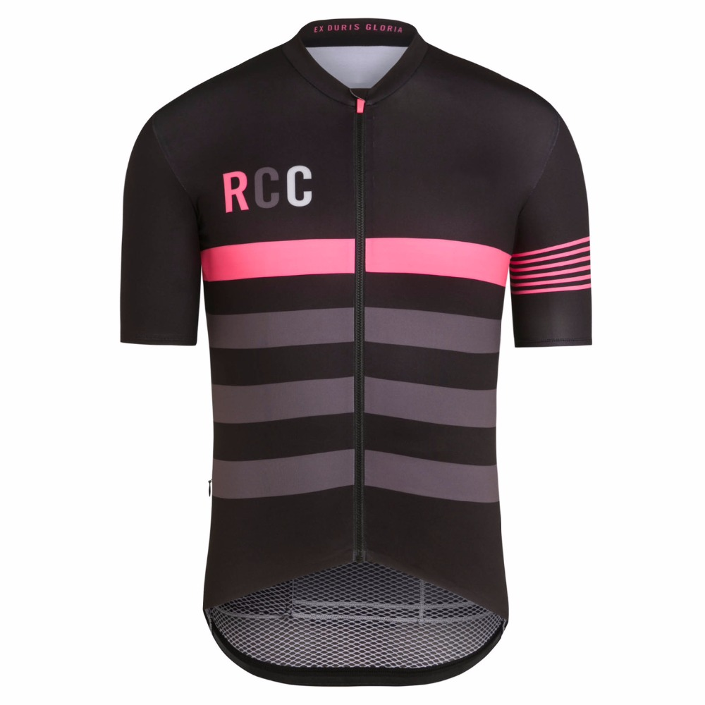 Rcc Summer Short Sleeve Cycling Clothing Ropa Ciclismo Bike Racing Cycling Tops Team Cycling Jersey Sleeves With Italy MITI polyester summer breathable cycling jerseys pro team italia short sleeve bike clothing mtb ropa ciclismo bicycle maillot gel pad