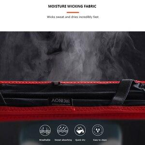 Поясная Сумка AONIJIE W938, тонкий пояс для бега, поясная сумка для путешествий, денег, марафона, тренажерного зала, фитнеса, держатель на мобильный телефон 6,9 дюйма