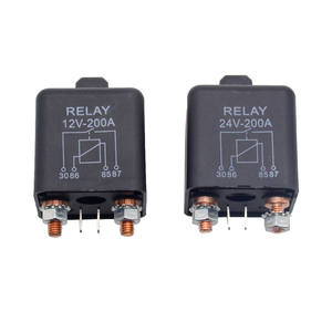 New Car Truck Motor Automotive high current relay 12V/24V 200A 2.4W Continuous type Automotive relay car relays(China)
