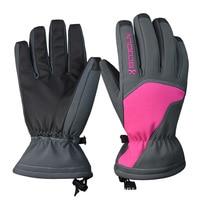 Winter Ski Gloves Warm Motorcycle Ski Gloves Windproof Breathable Snowboard Gloves Outdoor Running Sports Running Skiing