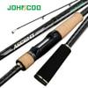 JOHNCOO ספינינג חכת דיג פוג 'י טבעות באמת מהיר פעולה 7 28g מבחן 40T אליפות טוראי פחמן קל משקל 132g דיג מקל-בחכות מתוך ספורט ובידור באתר