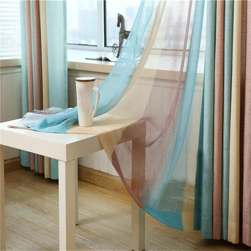 Curtain Colours For Living Room Part - 39: Modern Colours Stripe Blackout Window Curtains Drapes Shades For Living Room  Bedroom Kitchen , Grommet Top,hook,rod Pocket-in Curtains From Home U0026  Garden On ...