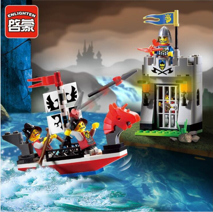 Pirates Of The Caribbean Pirates Ship Dock Marauder building block set Bricks Model Educational Toys For Boy Gift