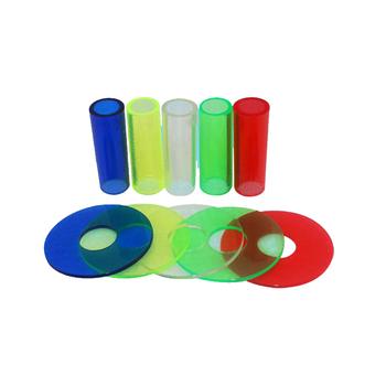 Kolorowy wałek Sanwa JLF-CD i osłona przeciwpyłowa aby dopasować i chronić Joystick Sanwa i inne joystick tanie i dobre opinie xinmo Pchacz 6 lat white blue green yellow red Sanwa joystick Joystick Shaft and Dust Cover Set