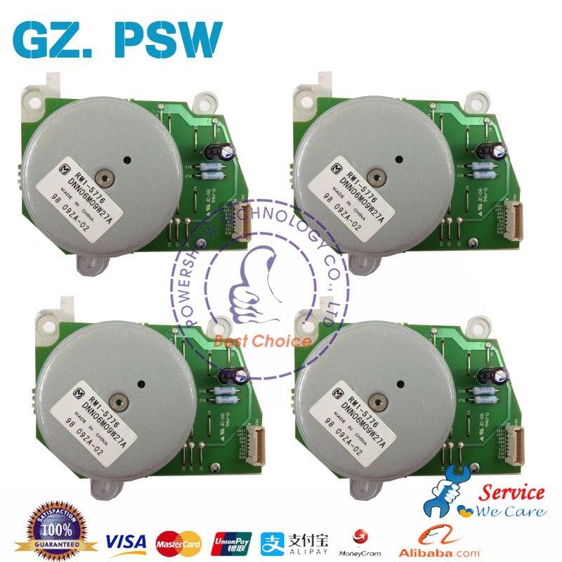 Original New Drum Drive Motor 4PCS RM1 5776 RM1 5521 For HP CP4525 CP4025 CM4540 M651