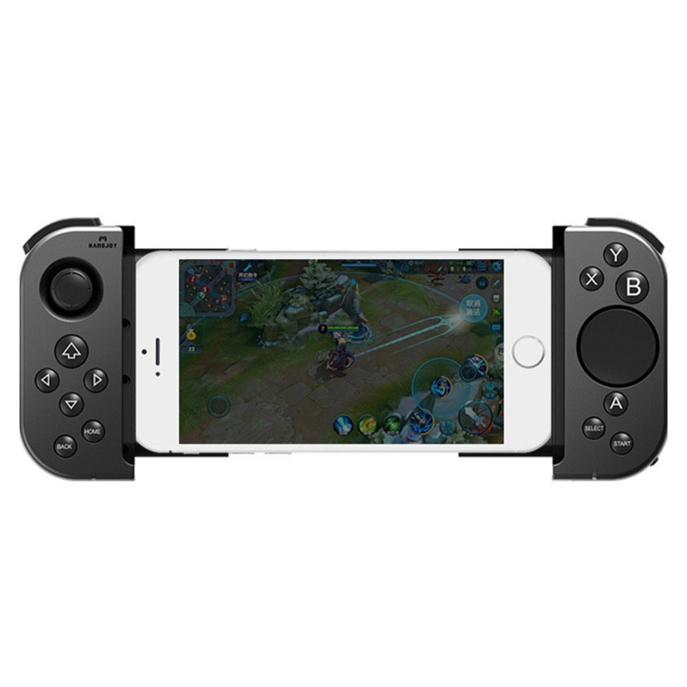 New Touch Bluetooth Wireless Gamepad Non-vibration Stretchable Handle Game Pad Joystick Controller For Smartphone Android IOS flydigi x9et pro non vibration mobile game handle controller