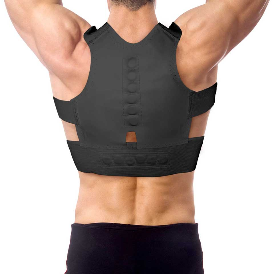 Magnetic Posture Correction Belt Shoulders Back Posture Support Correct Posture Back Support Bra Posture Lumbar Belt S M L XXL