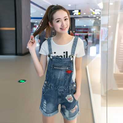 0ca27ce7b58 Summer Vintage Denim Jumpsuit Shorts Jeans Romper Bib Overalls For Women  Plus Size Bodycon Jumpsuit Mono Mujer A3400