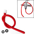 50/100cm Long Sex Enema Tube Latex Enemator Anal Cleansing Sex Toys Cleaner Soft anal Sex Products kit