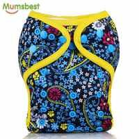 [Mumsbest] Neue Design Baby Tuch Windel Abdeckung PUL Wasserdichte Baby Waschbar Windeln Mehrweg Tasche Tuch Windeln 1PC
