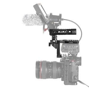 "Image 5 - SmallRig DMW XLR1 קסדת ערכת עבור Panasonic S1/S1R ו GH5/GH5S מצלמה כלוב למעלה ידית ערכת עם קר נעל/נאט""ו רכבת 2367"