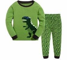 100% coton de haute qualité 1 pc détail 2-7 ans bébé fille garçon vêtements enfants pijama ensembles à manches longues