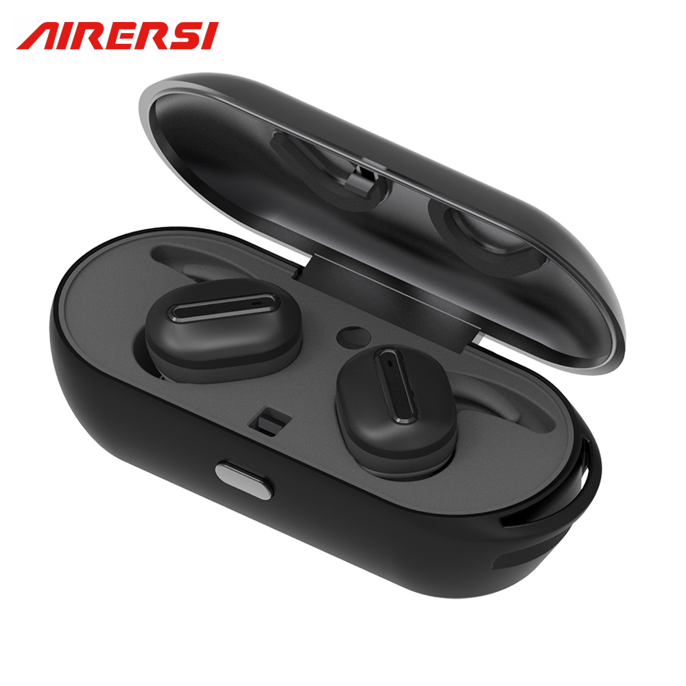 True Wireless Sports headphones Stereo Handsfree Invisible Mini Bluetooth Earphone Headset with charge Box For Android IOS Phone new k6 bluetooth headset earphone voice command auto answers for iphone android busiess bluetooth headphones with storage box