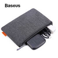 Baseus Portable Mobile Phone Pouch Bag for iPhone Samsung Xiaomi Huawei Bag Case for Cell Phone Accessories Storage Handbag Bag