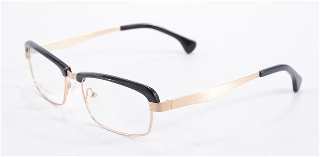 New Arrival Coating Women Brand Designer Acetate Frame Vintage multi -color men optical myopia glasses 6007