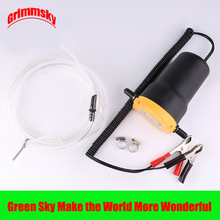 hot selling vehicle mounted kits clip type electric self-priming 12V/24V engine oil extractor