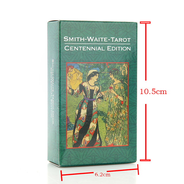 78pcs/set hot sale full english radiant rider wait tarot cards factory made smith tarot deck board game cards 6
