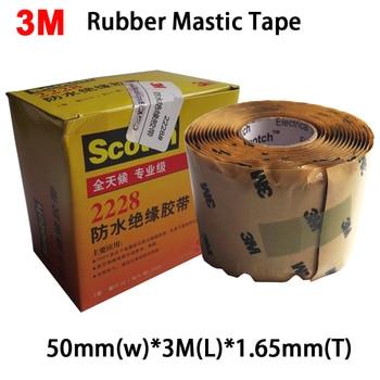 3 M Scotch 2228 Gummi Mastix Band Feuchtigkeit Abdichtung Elektrische 50mm x 3 m x 1,65mm (2in. x10ft. x, 065in.) Alle Tag, Professionelle Klasse